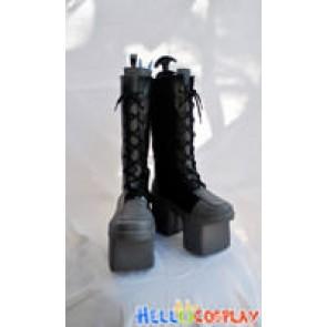 Vocaloid 2 Cosplay Len Kagamine Black Boots