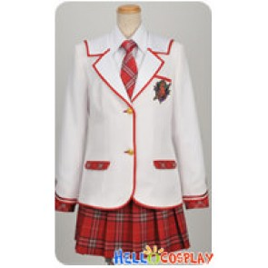 Daitoshokan No Hitsujikai Cosplay Girl Uniform Tie Ver Costume