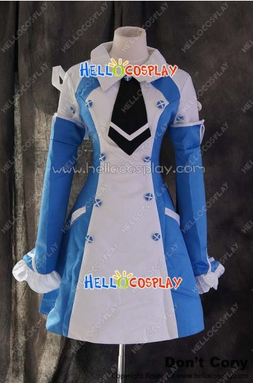 Pandora Hearts Cosplay Echo Zwei Blue Dress Costume