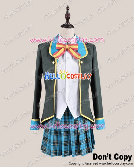 Good Job GJ Club Cosplay Mao Amatsuka School Girl Uniform Costume