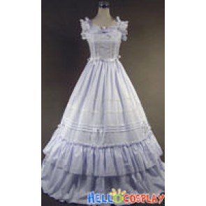 Southern Belle Gothic Lolita Ball Gown White Dress Prom
