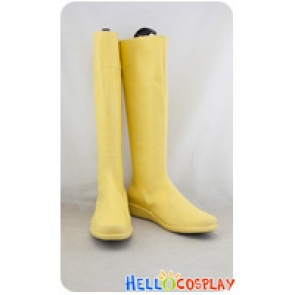DC Comics Green Lantern Cosplay Shoes Karu Sil Yellow Boots