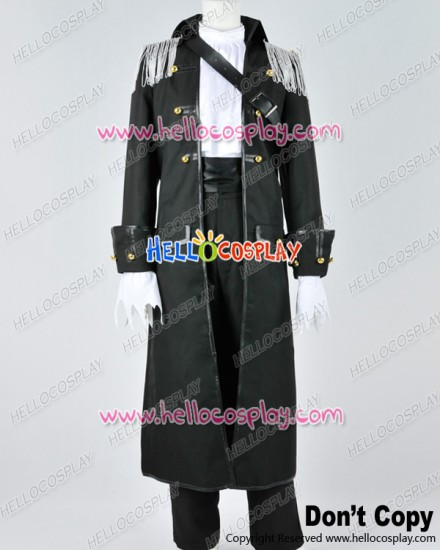 Black Butler Kuroshitsuji II Cosplay Ciel Phantomhive Black Uniform Costume