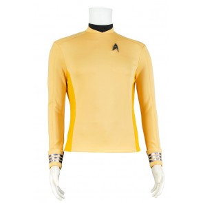 Star Trek Beyond Captain Kirk Uniform Cosplay Costume Shirt