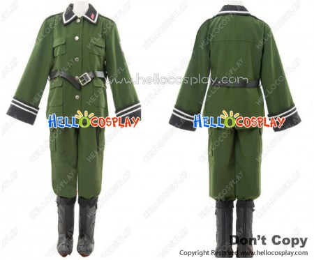 Sound Of The Sky Cosplay The 1121st Platoon Military Uniform Costume