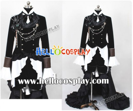 Black Butler Cosplay Chapter 6 Cover Ciel Phantomhive Costume