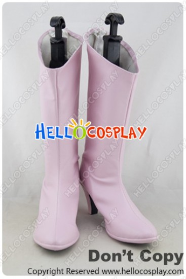 Macross Frontier Cosplay Lynn Minmay Pink Boots