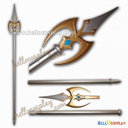 Saint Seiya Cosplay Weapon Ares Spear
