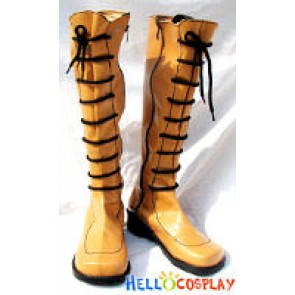 Ragnarok Online Cosplay Brown Long Boots