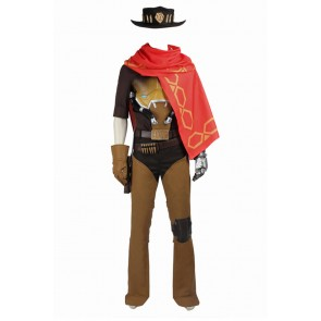 Overwatch McCree Cosplay Costume Uniform