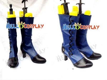Black Butler Ciel Phantomhive Cosplay Blue Boots