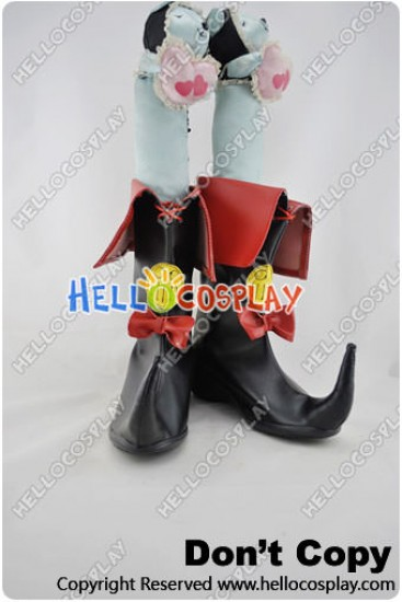 Dungeon Fighter Online Cosplay Shoes Witch Short Boots