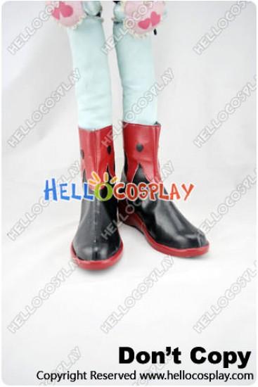 Guilty Crown Cosplay Shoes Inori Yuzuriha Shoes