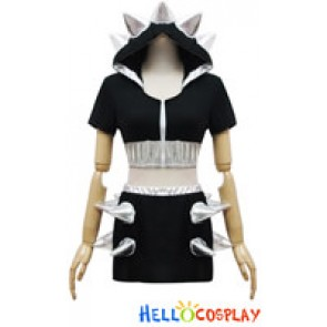 Angel Feather Cosplay LADY GAGA Evil DS Dress