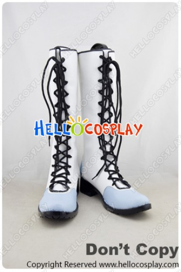 Arpeggio Of Blue Steel Cosplay Shoes Iona Boots White