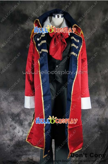Axis Powers Hetalia APH Cosplay Spain Suit Uniform Costume