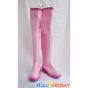 Vocaloid 2 Cosplay Sakura Miku Boots New Pink