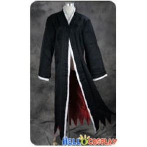 Bleach Cosplay Ichigo Kurosaki Trench Coat Cloak Costume