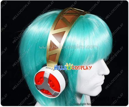 Shin Megami Tensei Persona 3 Cosplay Aigis Headphone Headset With MP3