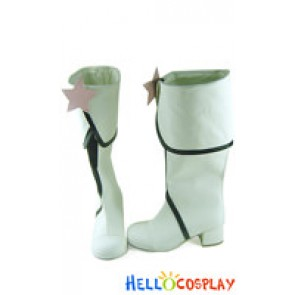 Vocaloid 2 Cosplay Shoes Miki Boots White