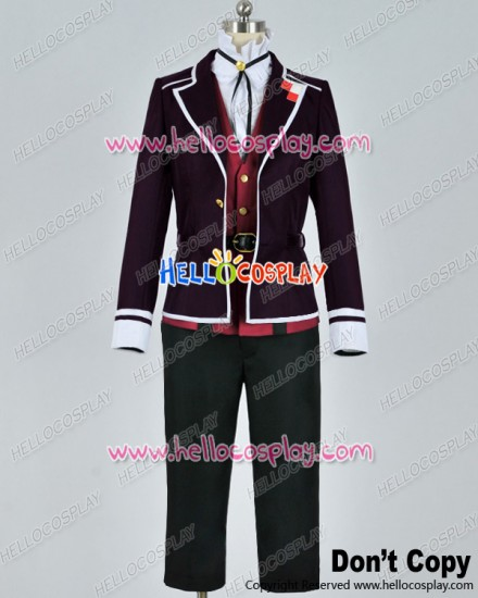 Diabolik Lovers Cosplay Kanato Sakamaki Purple Uniform Costume