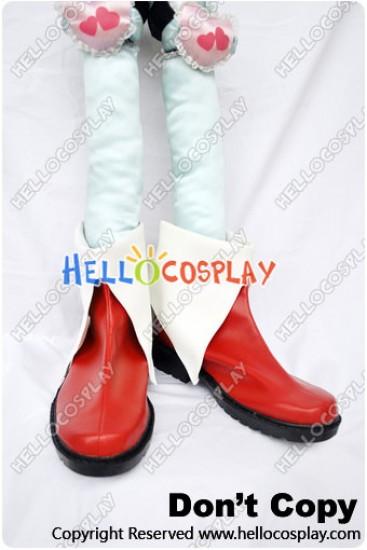 Puella Magi Madoka Magica Cosplay Kyoko Sakura Red Shoes
