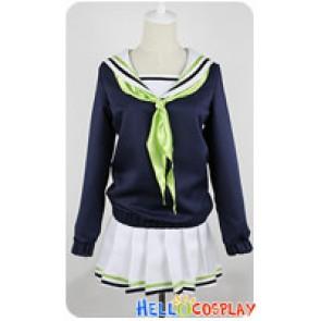 Kuroko Basketball Cosplay Aida Riko School Girl Uniform
