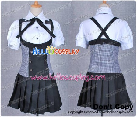 Inu x Boku SS Roromiya Karuta Cosplay Costume Uniform