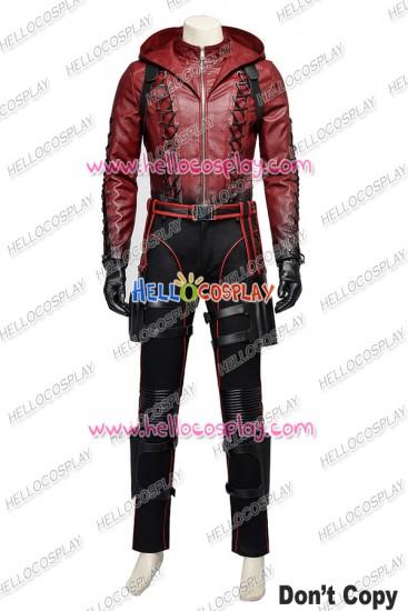 Green Arrow Season 3 Red Arrow Roy Harper Cosplay Costume New Version