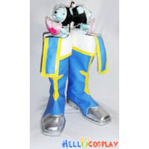 BlazBlue Cosplay Jin Kisaragi Boots Blue