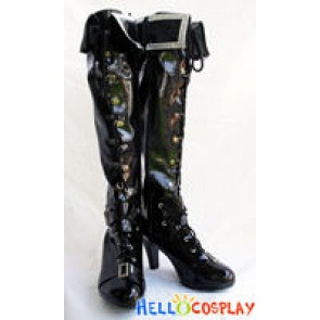 Vocaloid 2 Cosplay Black Rock Shooter Boots New
