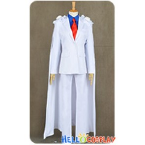 Case Closed Meitantei Conan Cosplay Magic Kaito Phantom Thief Kid Kaito Kuroba Costume Uniform