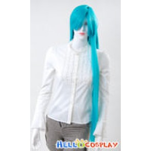 Cosplay Neon Blue Long Wig