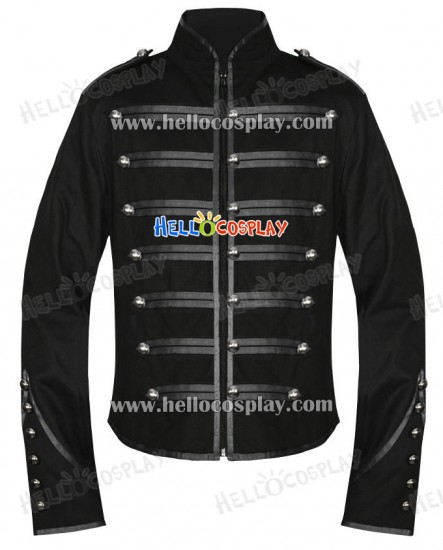 Emo Black Parade My Chemical Romance Military Jacket