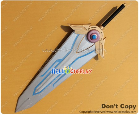 Date A Live Cosplay Tohka Yatogami Broadsword Weapon Prop