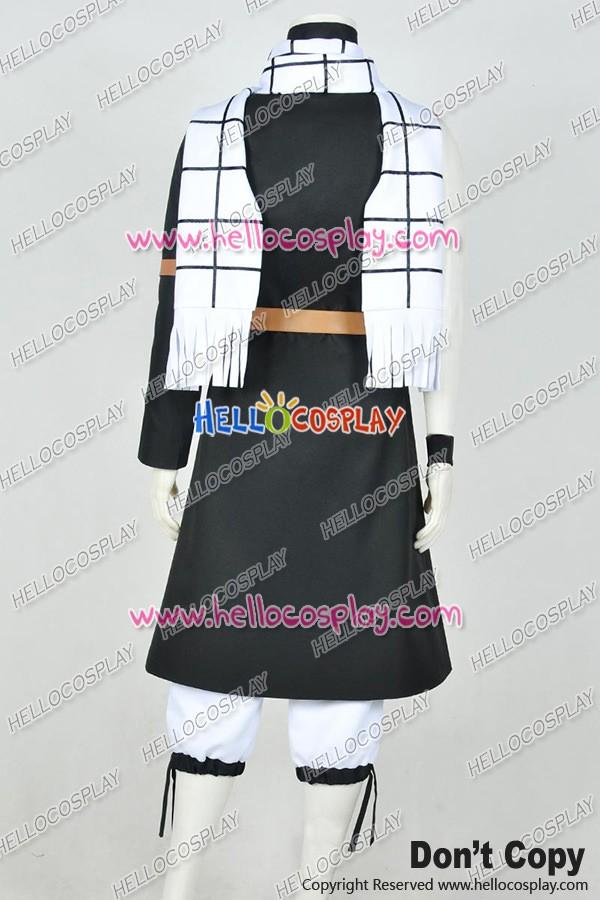 Fairy Tail Season 2 Cosplay Natsu Dragneel Uniform Costume