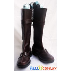 Gintama Cosplay Gintoki Sakata Brown Boots