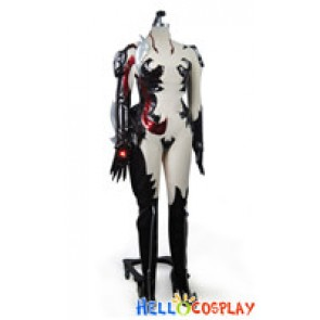 Witchblade Cosplay Masane Amaha Black Costume