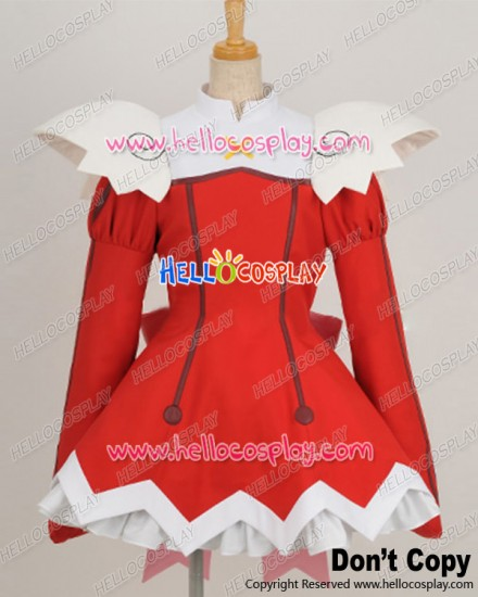 Kaito Tenshi Twin Angel Cosplay Haruka Minazuki Red Uniform Costume
