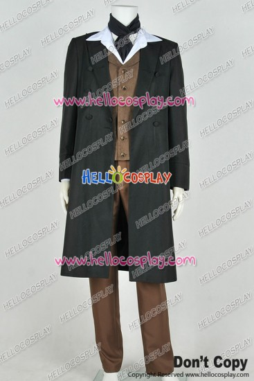 Doctor 8th Eighth Dr Paul McGann Cosplay Costume Full Set