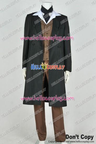 Doctor 8th Eighth Dr Paul McGann Cosplay Costume Full Set