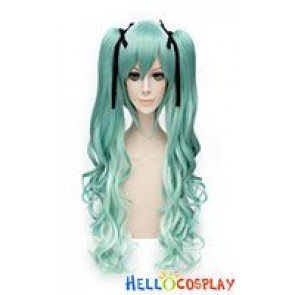 Vocaloid 2 Snow Miku Cosplay Wig