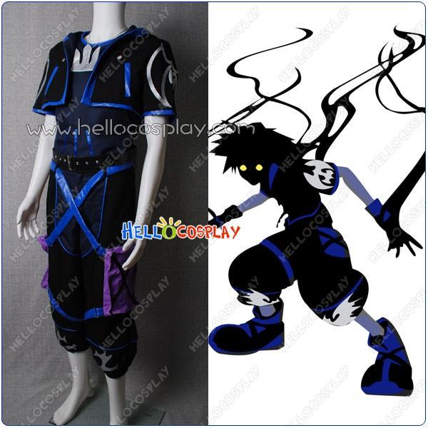 Kingdom Hearts Sora Halloween Town Costume.Kingdom Hearts Ii Cosplay Anti Sora Costume