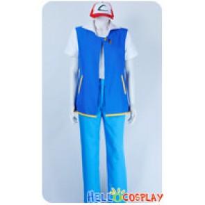 Pokemon Pokémon Cosplay Ash Ketchum Costume Blue Pants