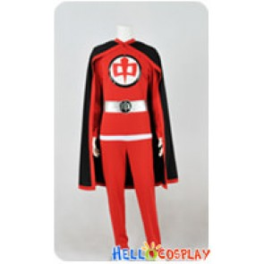 The Greatest American Hero Cosplay William Katt Red Flying Uniform Costume