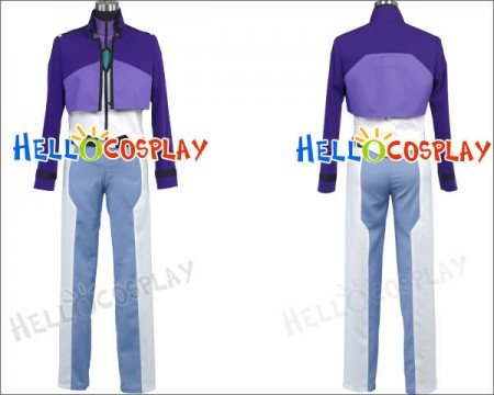 Mobile Suit Gundam 00 Tieria Erde Cosplay Costume