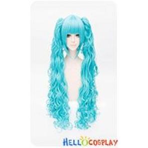Vocaloid 2 Hatsune Miku Ryuu No Naku Hakoniwa Yori Cosplay Wig Bright