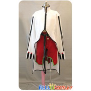BlazBlue Calamity Trigger Cosplay Kokonoe White Uniform Costume