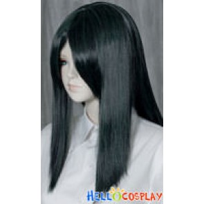 Darkest Cyan 50cm Cosplay Straight Wig