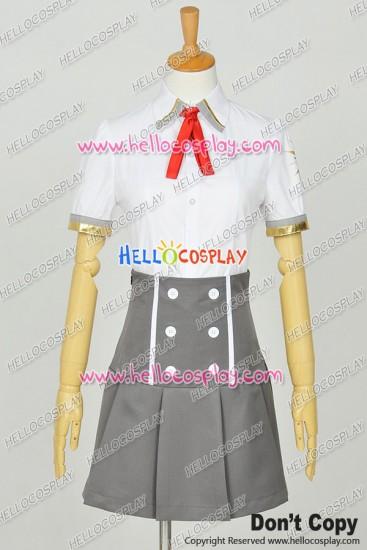 Kamigami No Asobi Ludere Deorum Cosplay Yui Kusanagi Summer School Uniform Costume